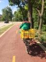 That wonderful, new bike path